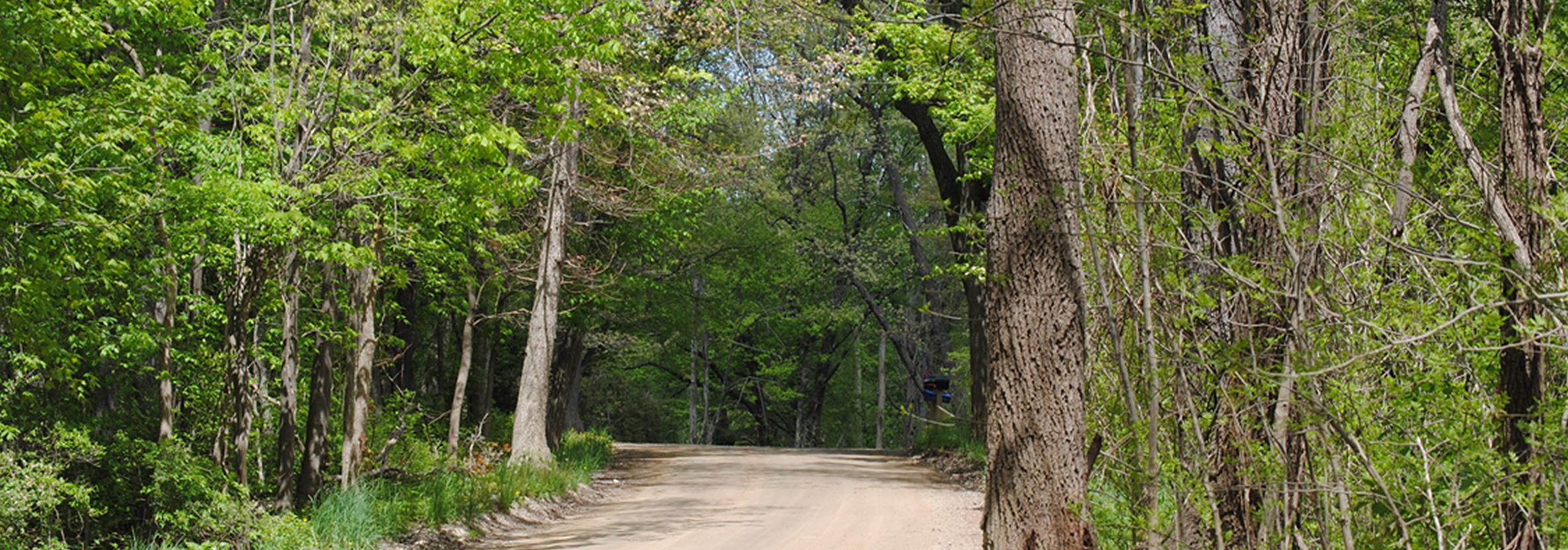 Michigan oakland county highland -  Highland Township Dirt Road Jpg